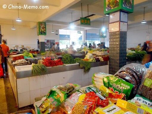 China Local Food Market