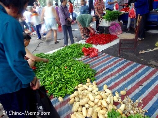 China Local Street Market