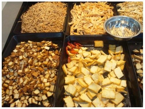 Chinse Food Market Tasty Tofu.