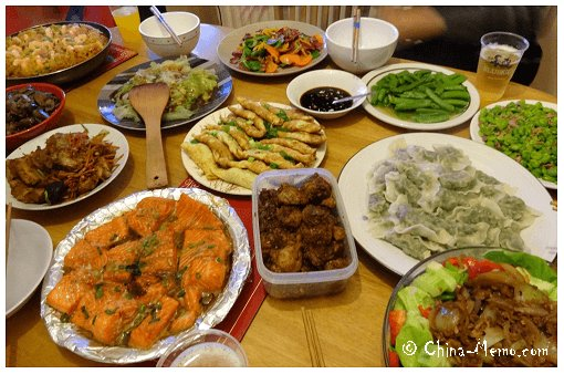 Chinese New Year Food Party.
