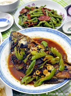 Chinese Red Cooked Carps