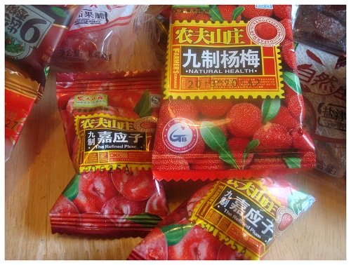 Chinese Snack Flavour Plums.
