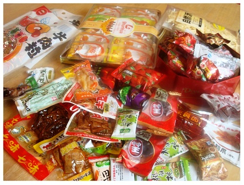 Chinese Snacks (LingShi).