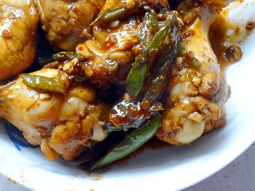 Chinese Spicy Chicken Drumsticks.