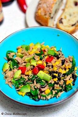 Chinese Spicy Tuna Veggie