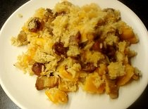Chinese Squash Risotto