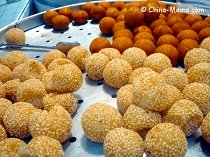 Chinese Sweet Sticky Rice Balls