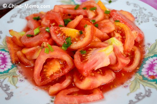 Chinese Sweet Tomato Salad