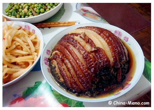 Chinese Steamed Pork Belly