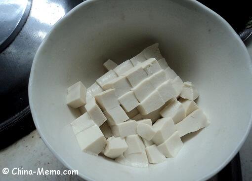 Chinese Tofu Cut