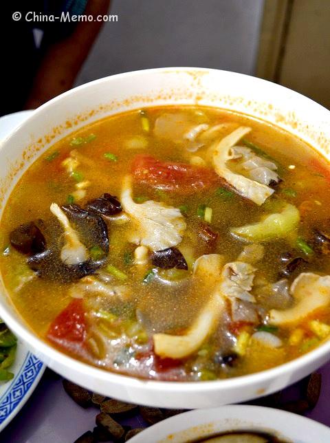 Chinese Tomato & Mushroom Soup