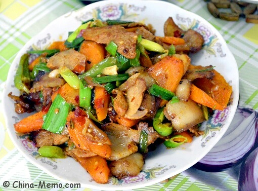 Chinese Twice Cooked Belly & Carrots