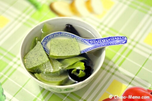 Chinese Winter Melon Skin & Wood Ear Soup
