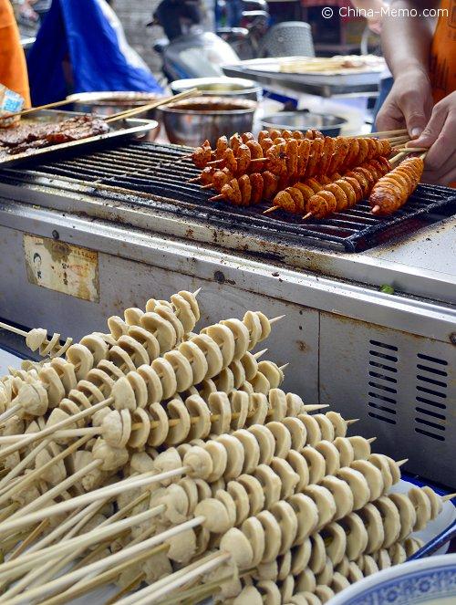 Xian Muslim Street BBQ Wheat Gluten.