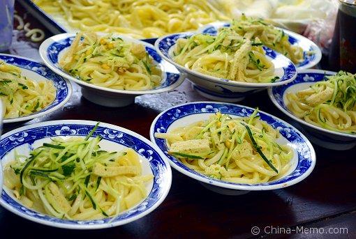 Xian Muslim Street Cold Noodles.
