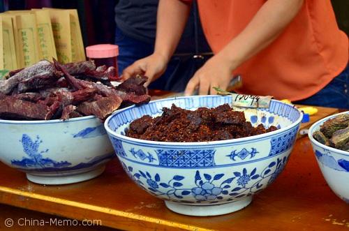 China Xian Muslim Street Dry Beef