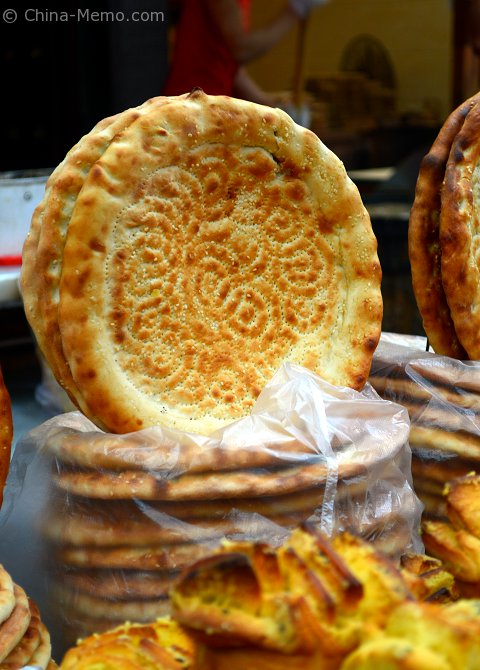 China Xian Muslim Street Flat Bread