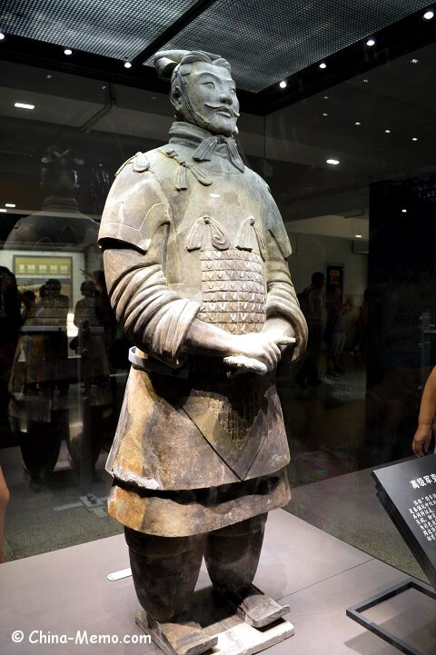 Xian Terracotta Army Pit No.2. The General.