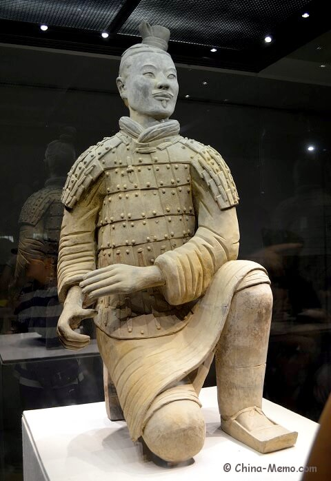 Xian Terracotta Army Pit No.2. Kneeling Archer.