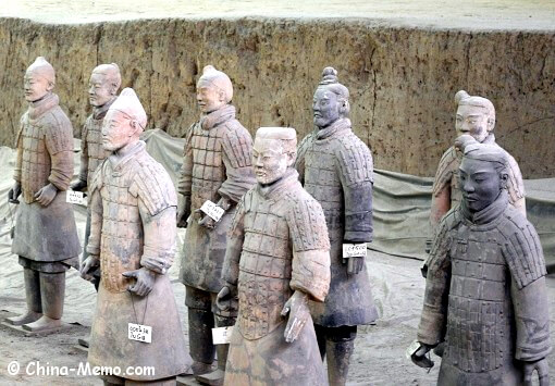 Xian Terracotta Army Pit No.1.