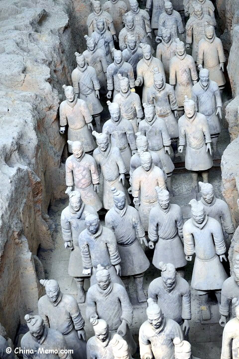China Xian Terracotta Army.