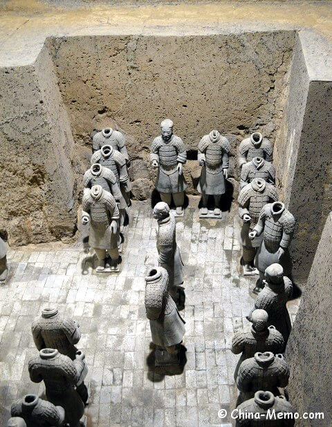 Xian Terracotta Army Pit No.2