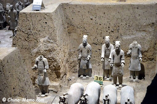 Xian Terracotta Army Pit No.2.