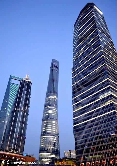 Shanghai Pudong Skyscrapers