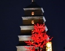 Dayan Pagoda Night View