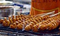 Xian Muslim Street Food Grilled Gluten