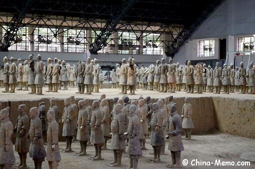 Xian Terracotta Army Pit No.1.