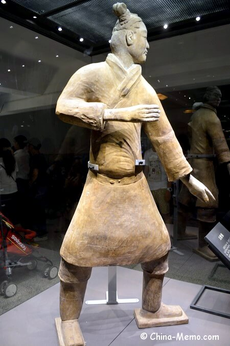 Xian Terracotta Army Pit No.2. Soldier.